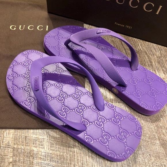 cd0533a9c181 Gucci Shoes - Authentic Gucci Flip Flops